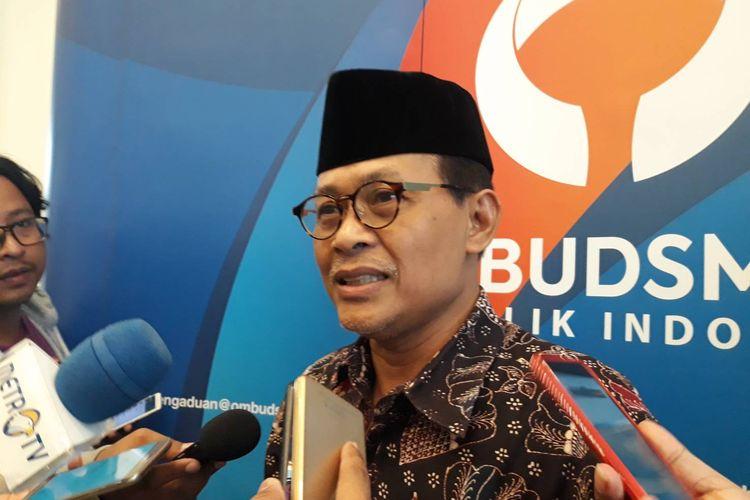 Anggota Ombudsman RI, Ahmad Suadi, usai sebuah diskusi di kawasan Jakarta Selatan, Kamis (12/12/2019).