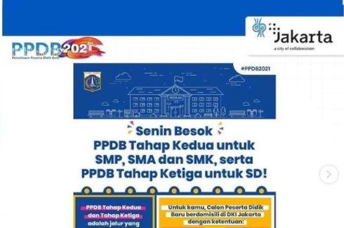 PPDB DKI Jakarta Tahap 2-3 Jenjang SD-SMA Dibuka, Simak Ketentuannya