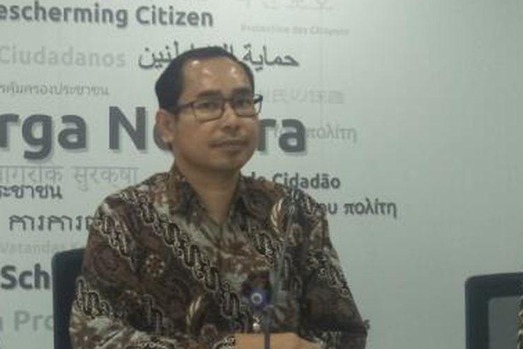 Direktur Perlindungan WNI dan BHI Kementerian Luar Negeri Judha Nugraha.