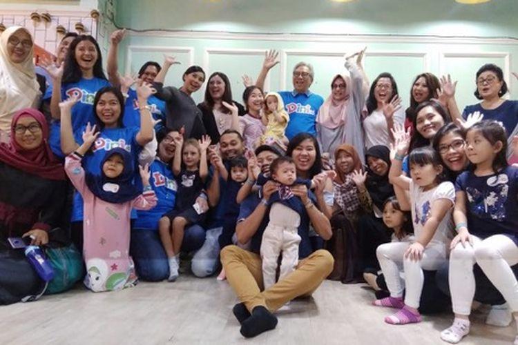 Peserta Seminar dan pembicara launching website www.dini.id mengangkat tema Deteksi Dini Speech Delay di Jakarta (31/8/2019).