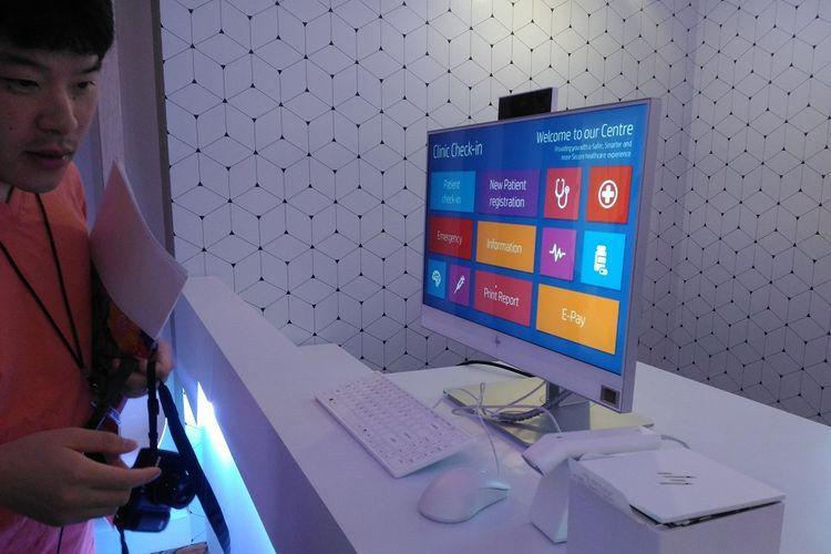 HP Inc. mengumumkan ketersediaan sejumlah produk terbaru seperti personal computer, workstation, dan printer saat HP Imagine 2018 di Singapura, Rabu (18/7/2018)