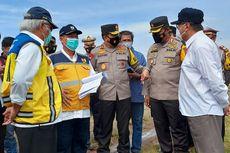 Kunjungan ke Indramayu, Menteri PUPR Cek Kondisi Waduk yang Kritis