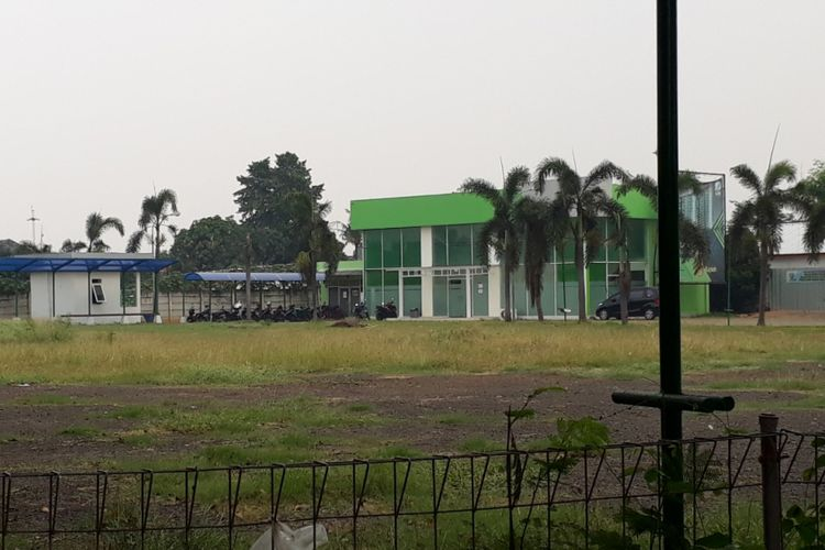 Lahan Rumah Susun (Rusun) Klapa Village Pondok Kelapa, Duren Sawit, Jakarta Timur, Rabu (25/07/2018).