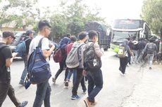 Mahasiswa dari Semarang Tertahan 6 Jam di Brebes akibat Bus Ditilang