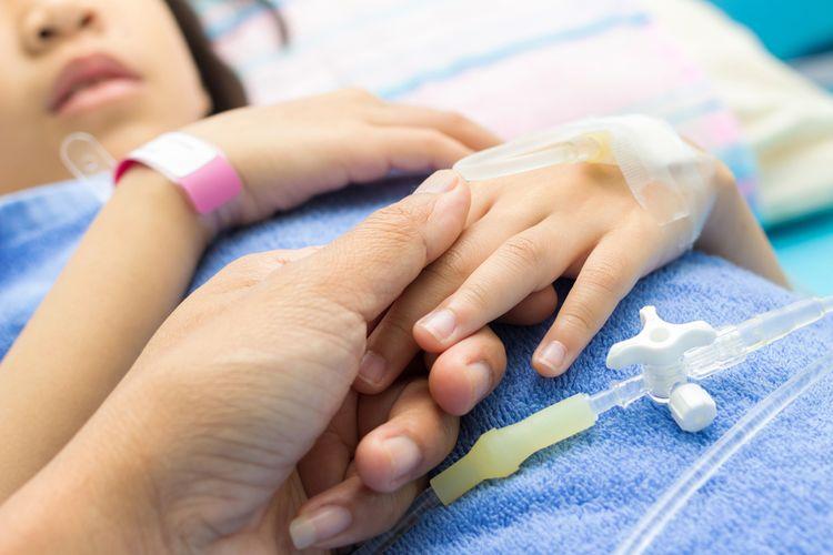 Ilustrasi pasien Covid-19 anak. Kasus Covid-19 pada anak di Indonesia semakin meningkat.