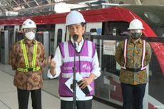 Jokowi Ingin Indonesia Ekspor LRT ke Berbagai Negara