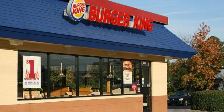Ilustrasi: sebuah gerai Burger King