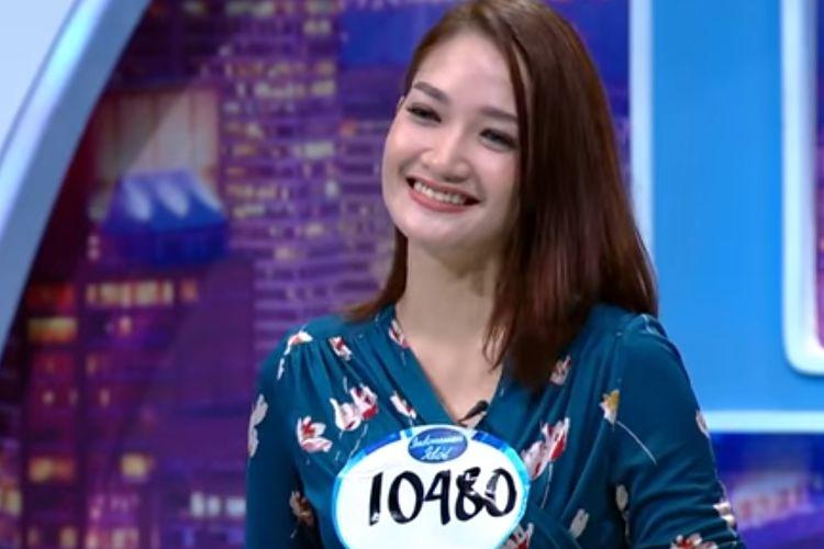 Nada, salah satu kontestan Indonesian Idol X.(YouTube/Indonesian Idol)