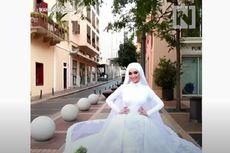 Video Viral Ledakan Lebanon, Pengantin Wanita Ini Terempas Saat Sesi Foto Pernikahan