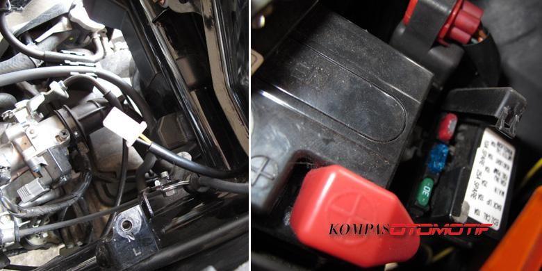 Pasang alarm dikhawatirkan mengganggu kinerja kelistrikan sepeda motor.