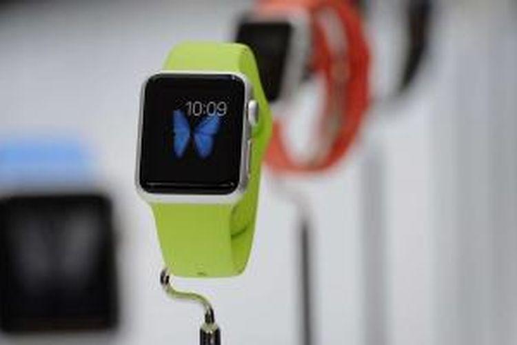 Tampilan salah satu jenis Apple Watch