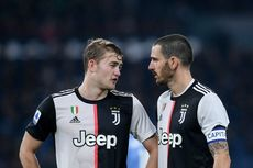 Bologna Vs Juventus, Bonucci Buka Suara soal Renggang dengan Sarri