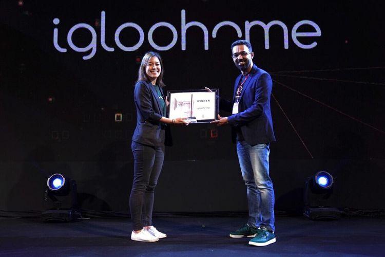 Penganugerahan penghargaan PropertyGuru Tech Innovation Award kepada Igloohome