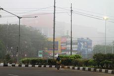 Kota Palembang Diselimuti Kabut, Ini Penyebabnya