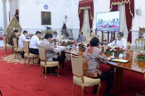 Alasan Jokowi dan Menteri Lepas Masker saat Rapat Penanganan Covid-19