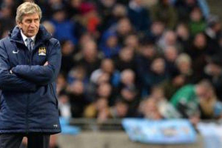 Manuel Pellegrini puas dengan kemenangan telak Manchester City atas Newcastle United hadir jelang lawan Barcelona.