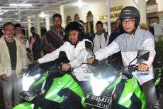 Jabar Kembangkan Ojek Online Motor Listrik Berbasis Masjid dan Pesantren