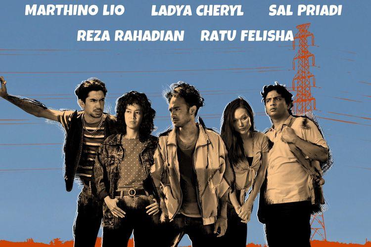Teaser poster resmi Seperti Dendam, Rindu Harus Dibayar Tuntas