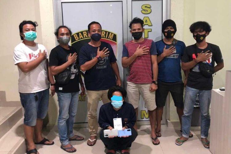 Pelaku pencurian ponsel Ari Kutul ditangkap Tim Jatanras Polda Babel, 26 Agustus 2021