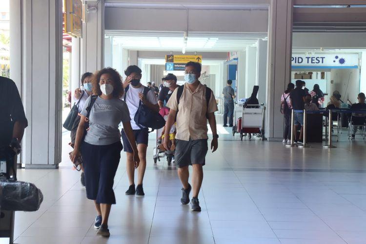 Bandara I Gusti Ngurah Rai di bulan Maret 2021