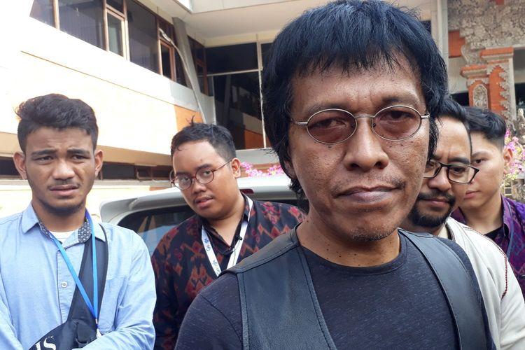 Politisi PDIP, Adian Napitupulu saat ditemui di Denpasar, Sabtu (21/9/2019).