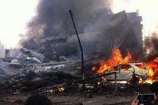 Pesawat Hercules Jatuh di Medan, Warga Padati Jalan hingga 10 Kilometer