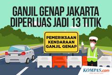 Simak 13 Lokasi Ganjil Genap di Jakarta yang Berlaku Mulai Hari Ini
