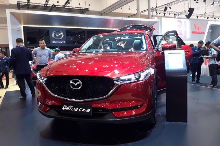Mazda CX-5 di GIIAS 2017. Tahun ini, masih banyak produk yang akan meluncur.