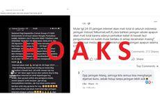 Heboh Kabar Jaringan Internet Mati pada 24-30 September 2021, Hoaks!