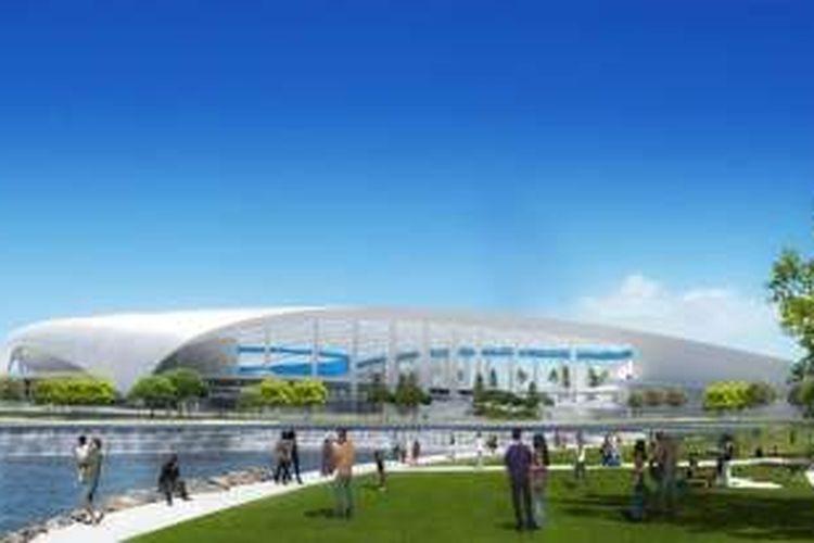 Los Angeles (LA) akan meyambut datangnya kembali liga futbol National Football League (NFL) dengan membangun sebuah kompleks stadion berkapasitas 80 ribu kursi yang disebut sebagai NFL Disney World.