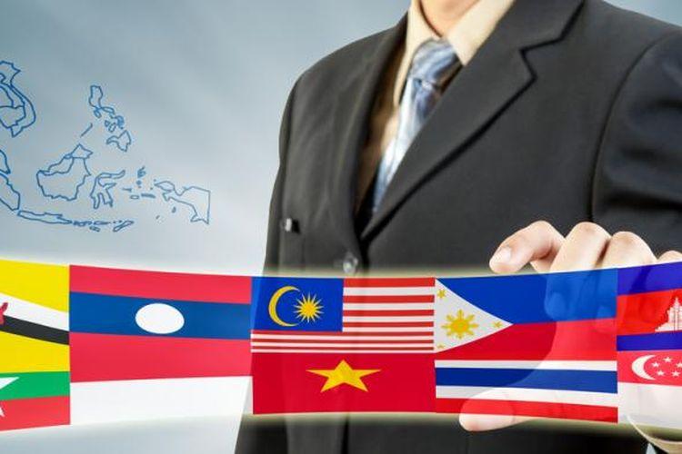 Ilustrasi Masyarakat Ekonomi ASEAN