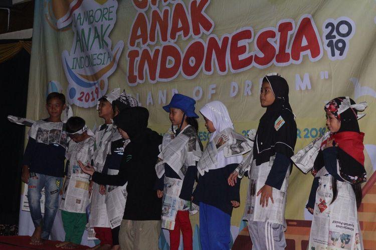 Jambore Anak Indonesia 2019: Tak Ada Batasan dalam Meraih Mimpi