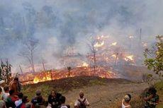 21 Rumah di Kampung Adat Sukabumi Terbakar