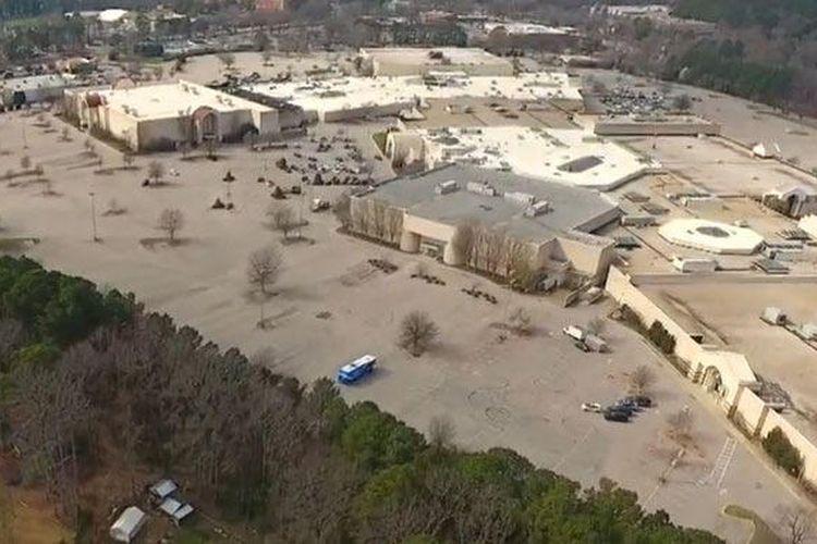 Mall Cary Towne Center yang akan diubah menjadi kantor baru bagi Epic Games