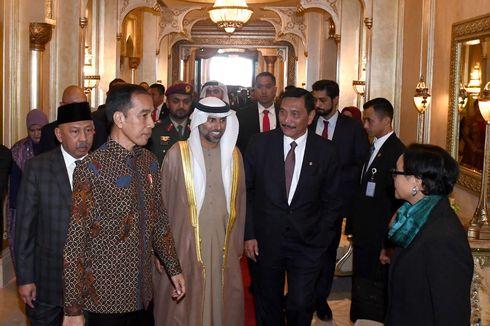 Jokowi Minta Putra Mahkota Abu Dhabi Jadi Dewan Pengarah Ibu Kota Baru