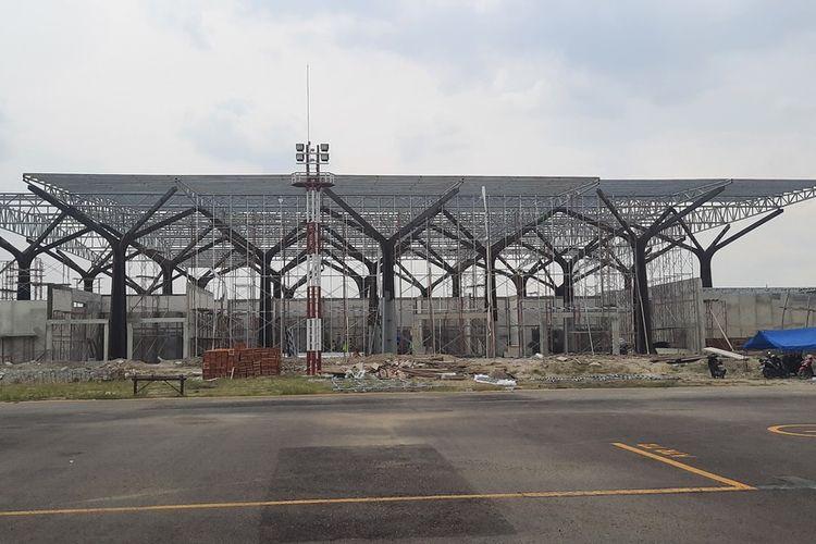 Kondisi Terminal Penumpang di Bandara Ngloram, Blora pada 20 Mei 2021