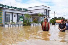 Diguyur Hujan Deras 3 Hari Terakhir, 10 Kecamatan di Kapuas Hulu Kalbar Terendam Banjir