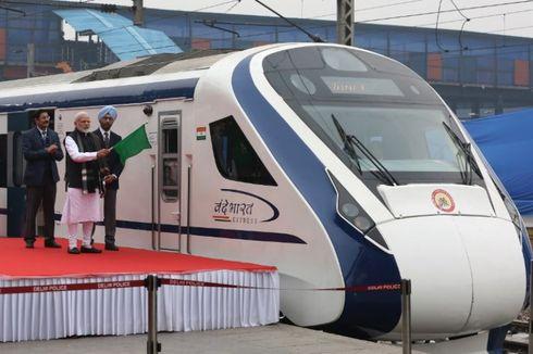 Tabrak Sapi, Kereta Semicepat India Rusak Usai Diresmikan