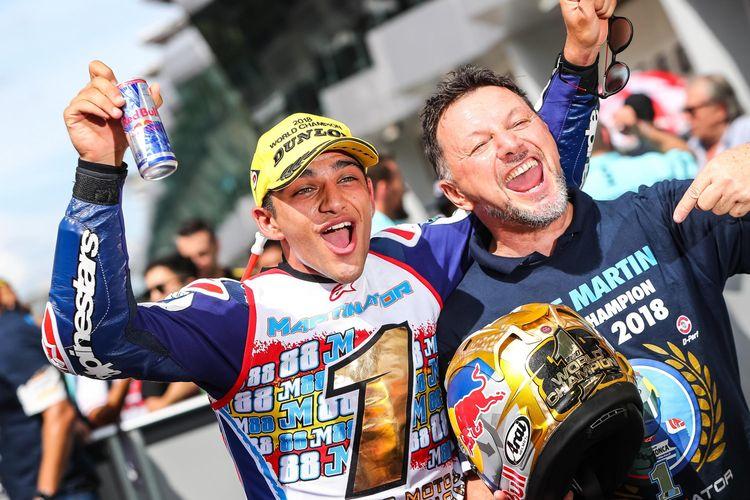Jorge Martin dan Fausto Gresini