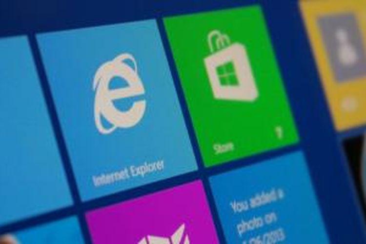Ilustrasi Internet Explorer