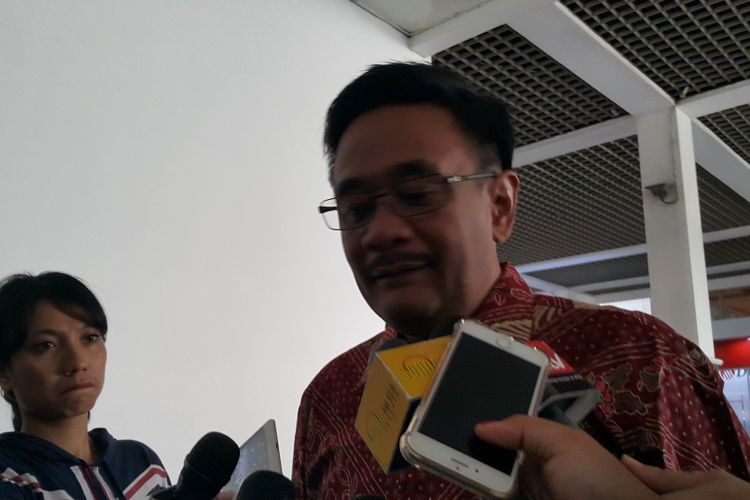 Gubernur DKI Jakarta Djarot Saiful Hidayat di Balai Kota DKI Jakarta, Jalan Medan Merdeka Selatan, Jumat (14/7/2017).