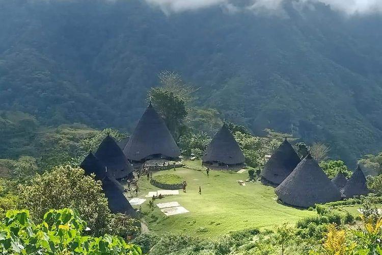 Foto : Objek wisata Wae Rebo, Kabupaten Manggarai NTT.