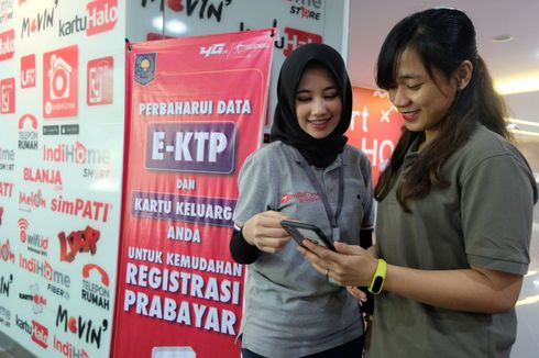 Awal 2019, Pelanggar Registrasi Kartu SIM Prabayar Bakal Diblokir