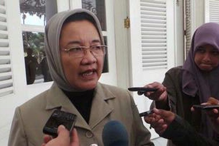 Kepala Dinas Kesehatan DKI Dien Emmawati
