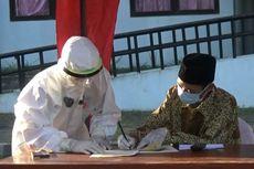 Pasien Covid-19 Gelar Pernikahan di Halaman Wisma Atlet, Selesai Menikah Kembali Diisolasi