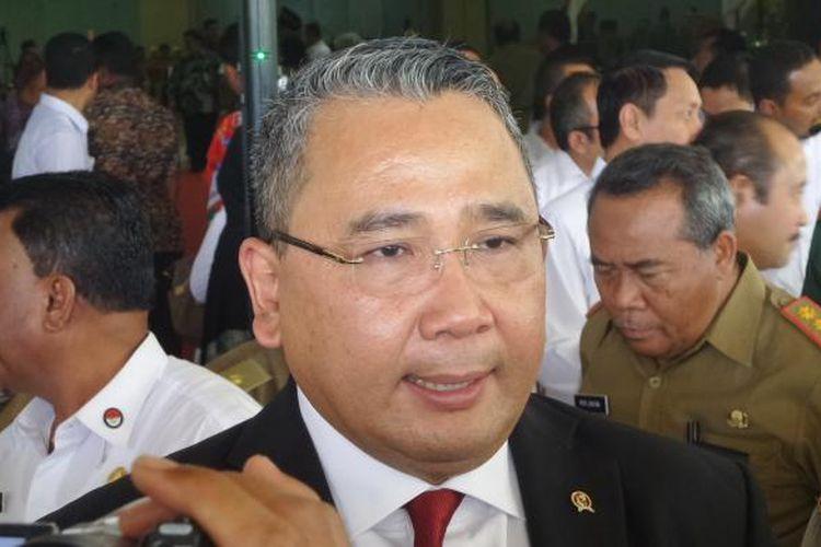Menteri Desa, Pembangunan Daerah Tertinggal, dan Transmigrasi RI Eko Putro Sandjojo.