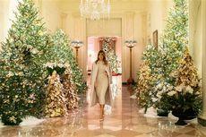 Semarak Dekorasi Natal di Gedung Putih ala Melania Trump