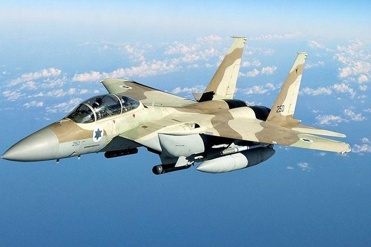 Sebuah jet tempur F-15 AU Israel.