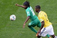 Babak I: Kolombia Vs Pantai Gading 0-0