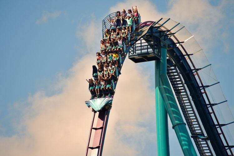 Ilustrasi wahana di Disney World Florida